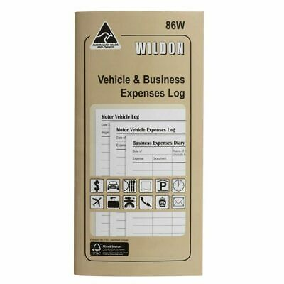 Wildon 86W Vehicle & Business Expense Log Book