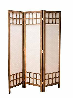 Screen room divider blinds wood 170cm x 136cm spanish wall