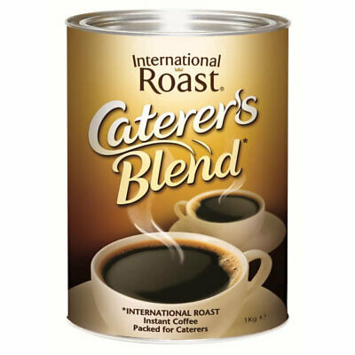 Nestles International Roast Coffee Catering Blend Can 1Kg