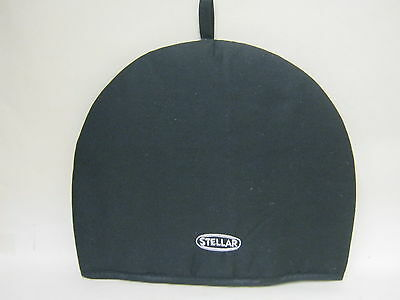 New Stellar Thermal Resistant Tea Cosy Black Cotton Drill STE10