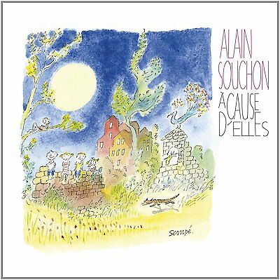 Alain Souchon ‎– À Cause d'Elles (2011)  CD  NEW/SEALED  SPEEDYPOST