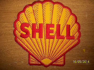 "Shell Oil Patch, 8"", Very Rare"