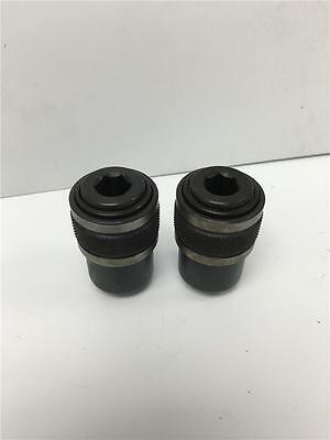 """2PC Quality USA QX-15 Quick Release Adapter Chuck 7/16"""" Hex x 3/8""""-24 Thd Mount"""