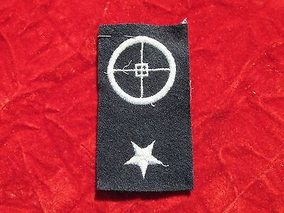 USMC Gun Pointer 1st class Patch with dated store tag Ship Detachment