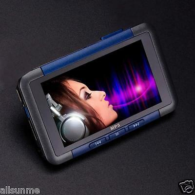 New 8GB Slim MP3 MP4 MP5 Music Player With 4.3'' LCD Screen FM Radio Video Movie