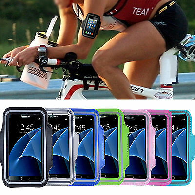 For Samsung Galaxy S7 & edge Outdoor Sports Running GYM Yoga Armband Case Cover