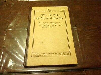 The Abc Of Musical Theory With Numerous Original And Selected Exercises