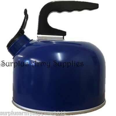 Camping Whistling Kettle 1 Litre Camping Fishing Aluminium Outdoor Cooking