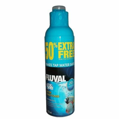 Fluval Aqua Plus Water Conditioner 375ml (50% Free) Tap Safe Nutrafin