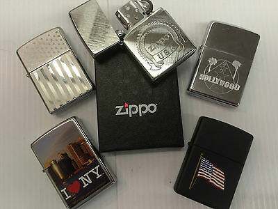 Personalized Genuine Zippo Lighters with American Themes free engraving,