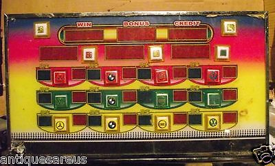 Vintage Electronic Casino Gambling Machine Frame It ?