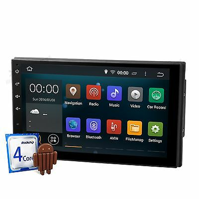 "Radio Gps Android 4.4.4 Kitkat Quad Core Lcd Tactil 7"" 1080P Bluetooth Usb Sd..."