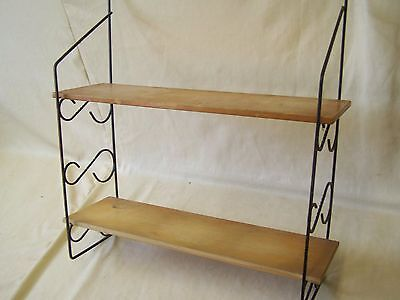 Old String Rack, 1960s 1970s Years Shelf