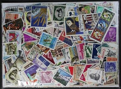 WESTERN EUROPE nice stamp collection made up of 1000 different stamps (lot#DP)