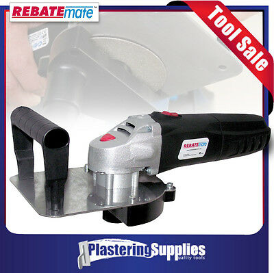 RebateMate Tool Plasterboard and Cement Sheet Butt Joint System RM-T Rebate Mate