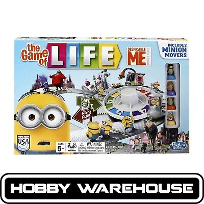 Hasbro A9016 Despicable Me The Game of Life Board Game