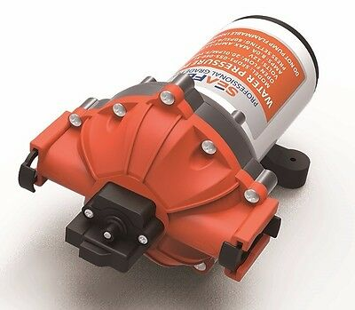 SEAFLO 12V 60 PSI 5.0 GPM Water Pump Boat 4 Year Warranty! Quick Connect Marine
