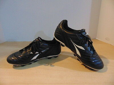 Soccer Shoes Cleats Children's Size 1 Diadora Black