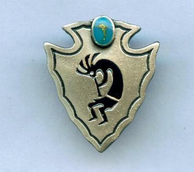 Anstecker Pin KOKOPELLI Western Indianer