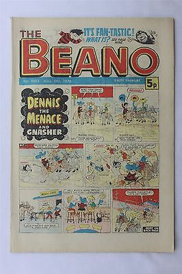 The Beano #1883 Aug 19th 1978 FN Vintage Comic Bronze Age Dennis The Menace