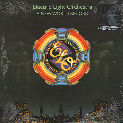 Electric Light Orchestra - A New World Record Clear  (LP - 1976 - EU - Reissue)