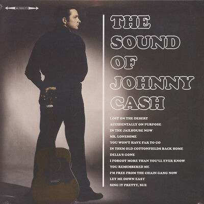 Johnny Cash - The Sound OfJohnny Cash (Vinyl LP - 2016 - UK - Original)
