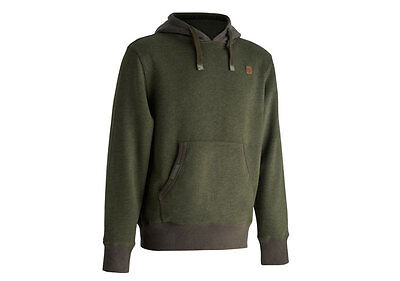 Trakker NEW Carp Fishing Green Duo Tone Earth Hoody *All Sizes*