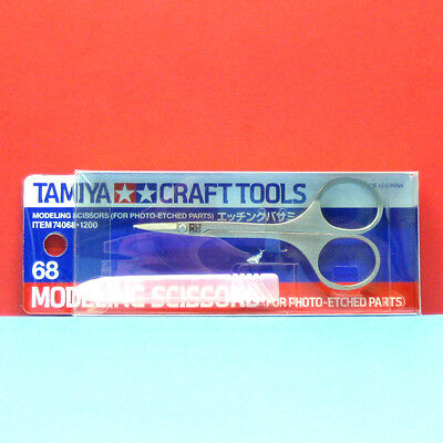 Tamiya #74068 Modeling Scissors (for Photo-Etched Parts)