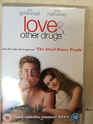 Jake Gyllenhaal Anne Hathaway LOVE AND OTHER DRUGS ~ 2010 Romcom Drama | UK DVD