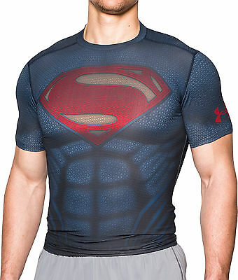 Under Armour Transfrom Yourself Superman Mens Compression Top