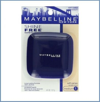 BUY 1, GET 1 AT 30% OFF Maybelline Shine Free Matte Finish Powder 140 Soft Cameo
