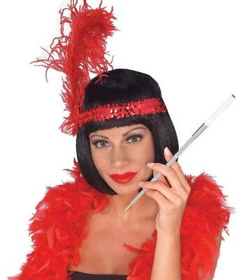 "Women's 12"" Long SPARKLE Cig Cigarette Holder Flapper 20's Costume Prop"