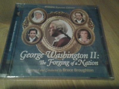 Bruce Broughton - George Washington II (Intrada) Score Soundtrack NEW & SEALED
