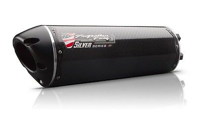 Two Brothers Silver Series Full Exhaust - M-2 Carbon Fiber  005-2470105V-S