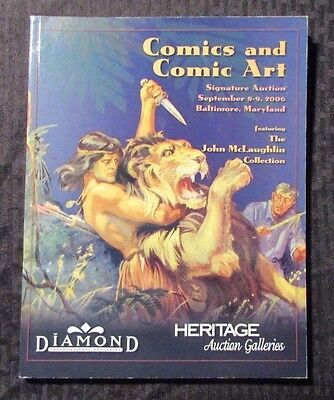 2006 Heritage Auction Catalog Sept 8/9 FVF 7.0 Comics & Comic Art 178pgs Tarzan