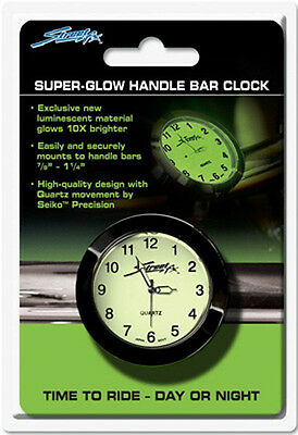 Streetfx Superglow Handlebar Clock (Black)