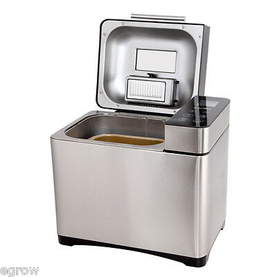 New 5 Star Chef Stainless Steel Bread Maker Automatic Yogurt Oven Kitchen Scale