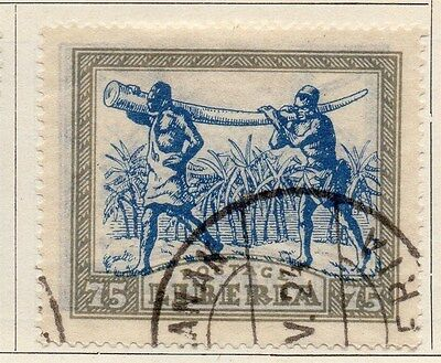 Liberia 1923 Early Issue Fine Used 75c. 050416