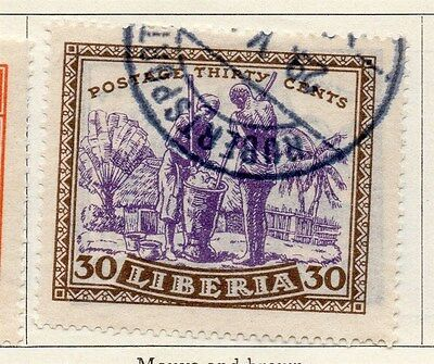 Liberia 1923 Early Issue Fine Used 30c. 050415