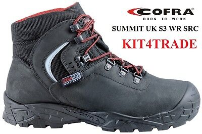 COFRA SUMMIT UK S3 WR SRC - Waterproof Safety Boot - SIZES 5 - 13 + RECEIPT