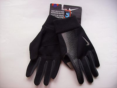 Nike Gloves Men's Thermal Tech Key Pocket Reflective Therm-Fit Select Size NIP