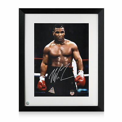 Mike Tyson Signed And Framed Boxing Photo: Baddest Man On The Planet