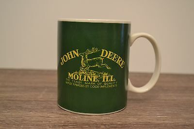 JOHN DEERE Moline Ill Coffee Mug Cup Licensed Product By Gibson