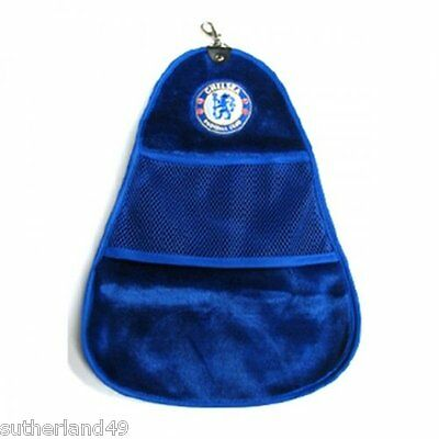 Chelsea FC Cleanswing Golf Bag Towel -The Blues