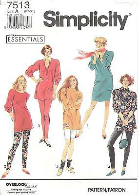 McCall's 7513 Misses' Pants, Shorts, Skir tand Tunic 6 to 24   Sewing Pattern