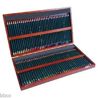 Derwent Studio Colour Pencils Full Set of 72 in Wooden Box
