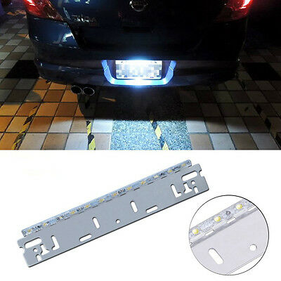 12V 12SMD Super Bright Car Reverse Backup Number License Plate Tail Brake Light