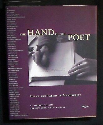 The Hand of the Poet:Poems and Papers in Manuscript HB/DJ 1st ed illus FINE/FINE