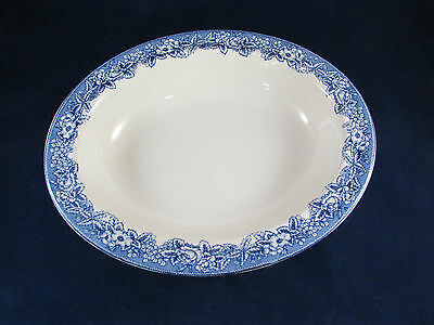 Wedgwood / Williams Sonoma HIGHGROVE Oval Serving Bowl