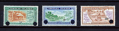 Tokelau 1967 Decimal Currency Surch. MNH